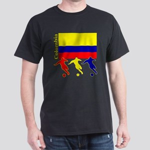 Colombia Soccer Dark T-Shirt