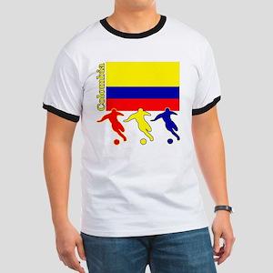 Colombia Soccer Ringer T