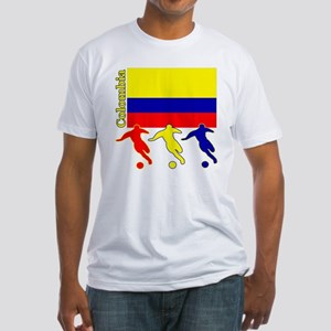 Colombia Soccer Fitted T-Shirt