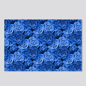 Blue Roses Postcards (Package of 8)