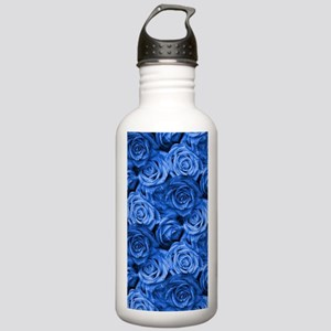 Blue Roses Stainless Water Bottle 1.0L