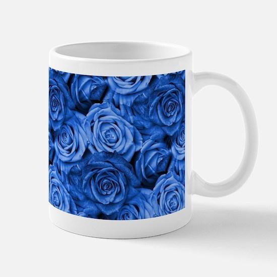Blue Roses Mugs