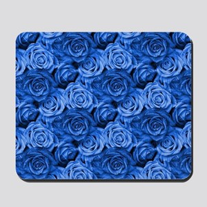 Blue Roses Mousepad