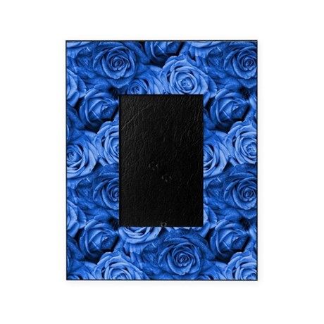 Blue Roses Picture Frame