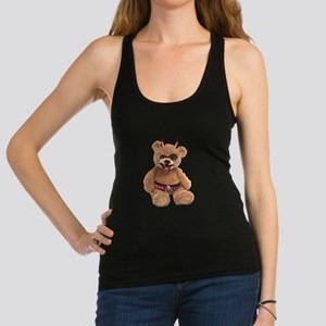 Evil Teddy Bear Racerback Tank Top