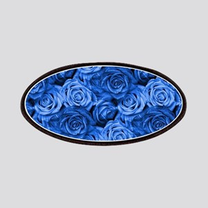 Blue Roses Patch
