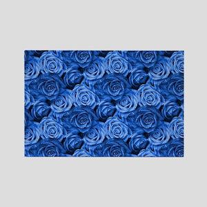 Blue Roses Magnets