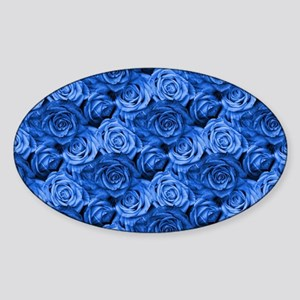 Blue Roses Sticker