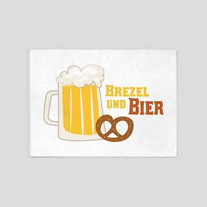 Pretzel & Bier 5'x7'Area Rug