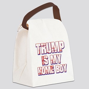 Trump is my Homeboy Canvas Lunch Bag