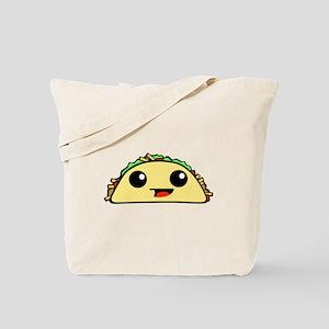 Cute Kawaii Taco Tote Bag