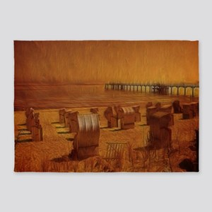 Orange Beach 5'x7'Area Rug
