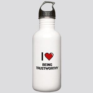 I love Being Trustwort Stainless Water Bottle 1.0L