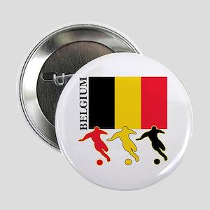 """Belgium Soccer 2.25"""" Button (10 pack)"""
