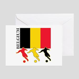 Belgium Soccer Greeting Cards (Pk of 10)
