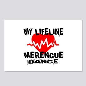 My Lifeline Merengue danc Postcards (Package of 8)