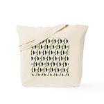 Moorish Idol Fish Pattern Tote Bag