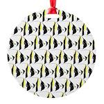 Moorish Idol Fish Pattern Ornament