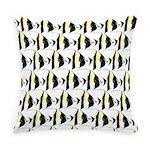 Moorish Idol Fish Pattern Everyday Pillow