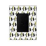 Moorish Idol Fish Pattern Picture Frame