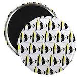 Moorish Idol Fish Pattern Magnets