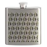Moorish Idol Fish Pattern Flask