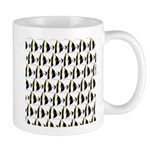 Moorish Idol Fish Pattern Mugs