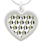 Moorish Idol Fish Pattern Necklaces