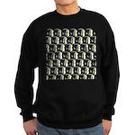 Moorish Idol Fish Pattern Sweatshirt