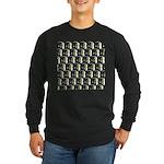 Moorish Idol Fish Pattern Long Sleeve T-Shirt