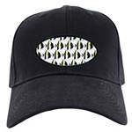 Moorish Idol Fish Pattern Baseball Hat