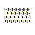 Moorish Idol Fish Pattern Banner