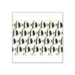 Moorish Idol Fish Pattern Sticker