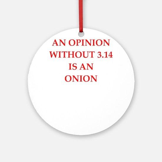 math joke Ornament (Round)
