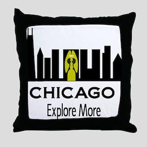 Explore More Chicago Throw Pillow