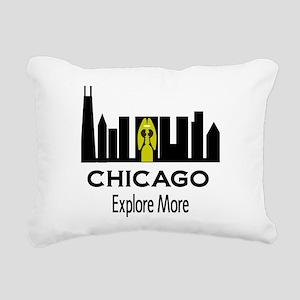 Explore More Chicago Rectangular Canvas Pillow