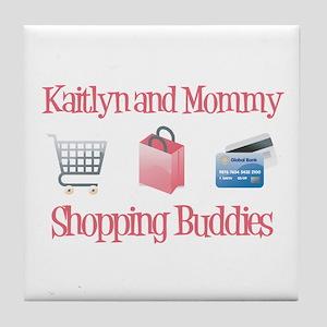 Kaitlyn - Shopping Buddies Tile Coaster