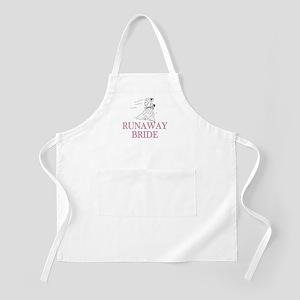 Runaway Bride Too BBQ Apron