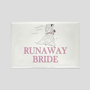 Runaway Bride Too Rectangle Magnet