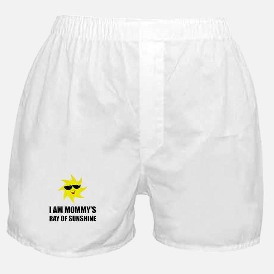 Mommys Sunshine Boxer Shorts