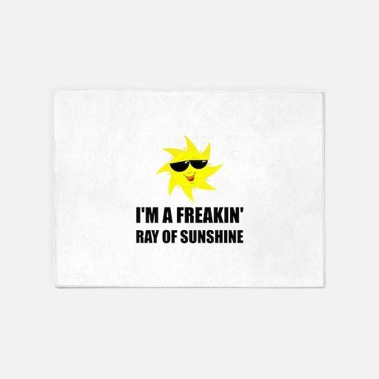 Ray Of Sunshine 5'x7'Area Rug