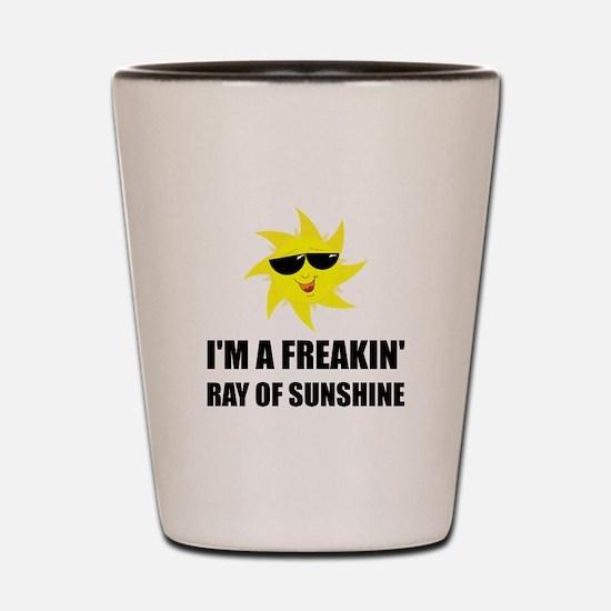 Ray Of Sunshine Shot Glass