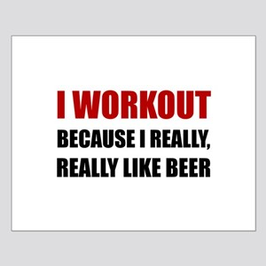 Workout Beer Posters