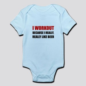 Workout Beer Body Suit