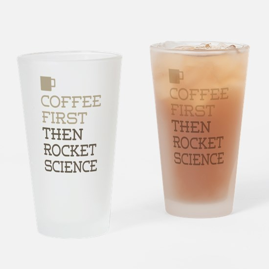 Rocket Science Drinking Glass