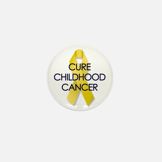 CURE CHILDHOOD CANCER Mini Button