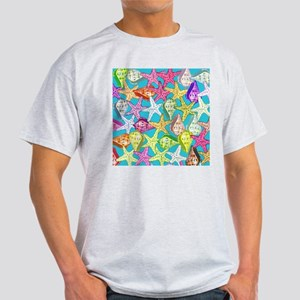 Seashells and sea stars T-Shirt