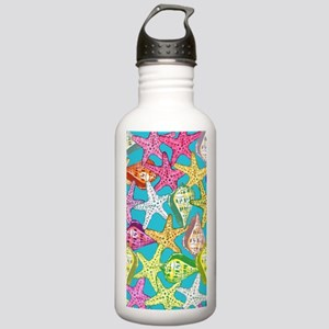 Seashells and sea star Stainless Water Bottle 1.0L