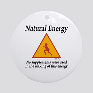 Natural Energy Round Ornament
