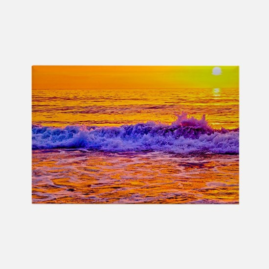 OBX Sunrise Rectangle Magnet